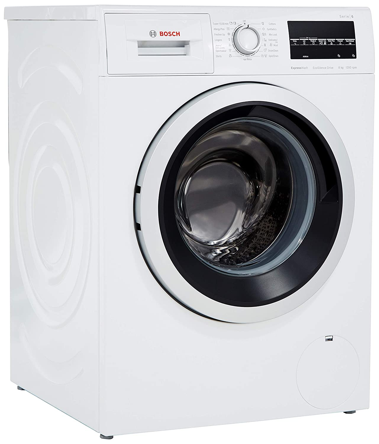 Bosch 8 kg Inverter Fully-Automatic Front Loading Washing Machine