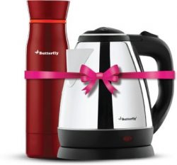 Butterfly Rapid Electric Kettle (1.5 L, Black) Buy at Best Price