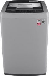 LG 6.5 kg Inverter Fully Automatic Top Load Silver Washing Machines