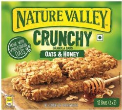 Nature Valley Roasted Almond Crunchy Granola Bars (252 g) Price